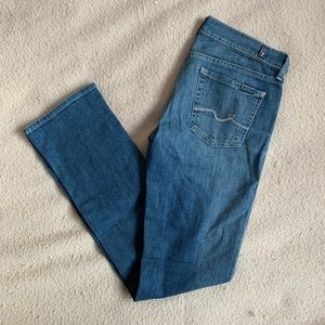 7 For All Mankind, Straight Leg Jeans